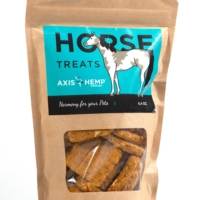 Try Axis CBD horse treats.