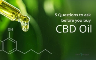Axis answers your questions about CBD Oil.